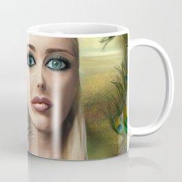 Lady Peacock Coffee Mug