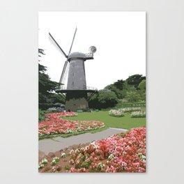 Dutch Windmill - Golden Gate Park Canvas Print