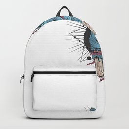 Zombie Hand With Bones Blood Illustration Backpack