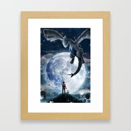 Legend of the moon Framed Art Print