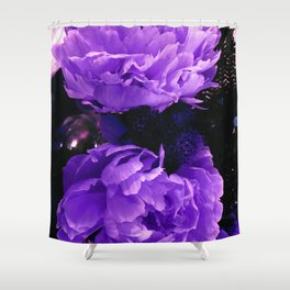 Peony Ultra Violet Shower Curtain