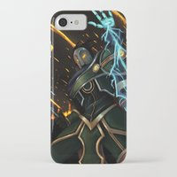 league of legends iPhone & iPod Cases featuring Viktor League of Legends by ARAM Adventures