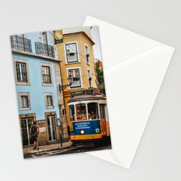 The beautiful streets of Lisbon Stationery Cards