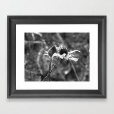 Stygian Stems Framed Art Print