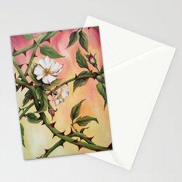 Vanilla Rose II Stationery Cards