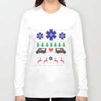 nordic Long Sleeve T-shirts featuring Nordic Paramedic Grey by Gregovsky D.