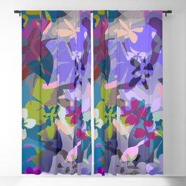 Wild Lavender Jungle Blackout Curtain