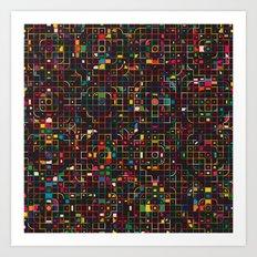 LED 3 Art Print