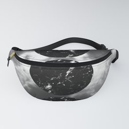 Marbled Moon Phases #1 #decor #art #society6 Fanny Pack