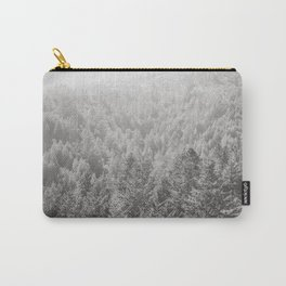 Mt Tamalpais in Shades of Gray Carry-All Pouch