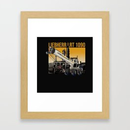 Liebherr LRT 1090 Framed Art Print
