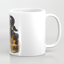 Halloween Goat Coffee Mug