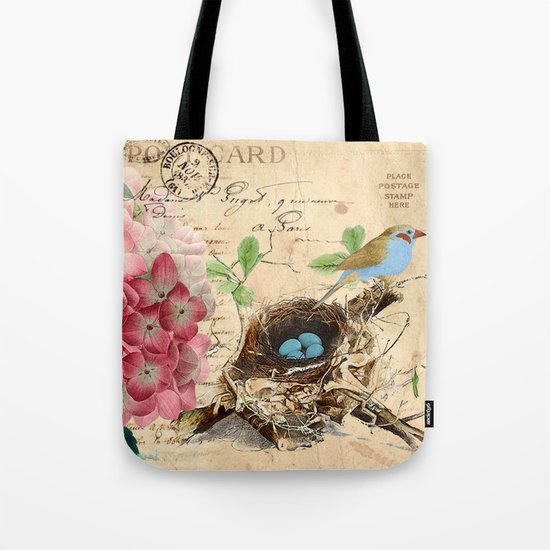 Vintage flower #15 Tote Bag