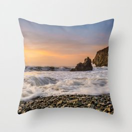 Copper Coast Sunrise 1 Throw Pillow