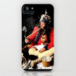 Seneca Tribe Native American 1730 iPhone Case