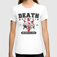 wrestling T-shirts featuring Death Mountain Wrestling by Nick Overman