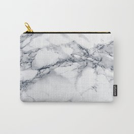 Marble - Blue Carry-All Pouch