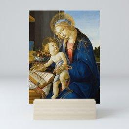 "Sandro Botticelli ""Madonna of the Book"" Mini Art Print"