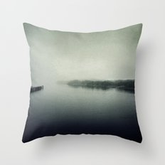Into the Darkness Throw Pillow