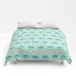 Umbrella Falls Comforters
