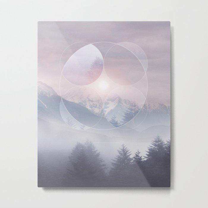 Geometric Vibes 02 Metal Print