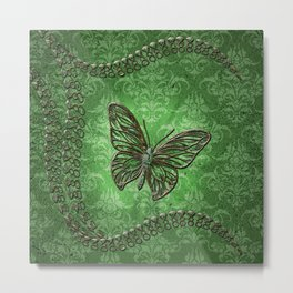 Decorative butterfly Metal Print