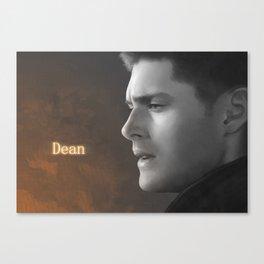 Dean Winchester - Supernatural Canvas Print