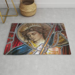 Angel in Glass Rug