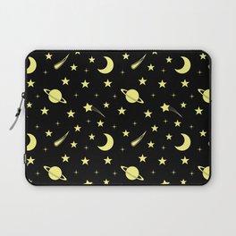Starry Sky // Yellow Laptop Sleeve