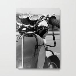 Vintage Triumph Bonneville Metal Print