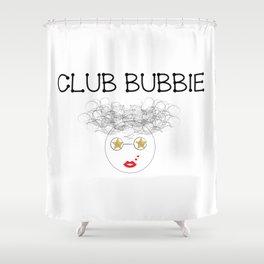 Club Bubbie Shower Curtain