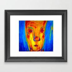 Enduring Red. Framed Art Print