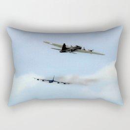 USAF Bombers Past And Present Rectangular Pillow