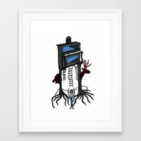piano Framed Art Prints featuring piano by JBLITTLEMONSTERS