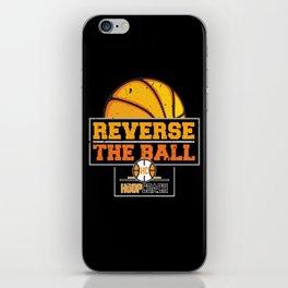 Reverse the Ball Hoop Coach Basketball iPhone Skin
