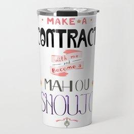 Make a Contract Travel Mug