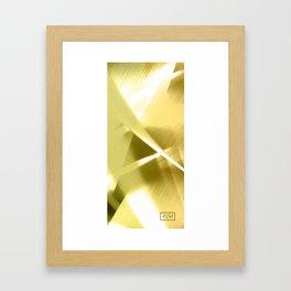 Gold Lining Framed Art Print