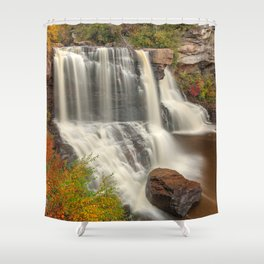 Blackwater Autumn Falls Shower Curtain