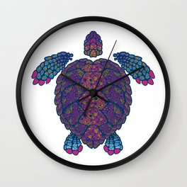 Alebrije Turtle 2 Wall Clock
