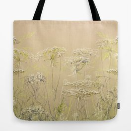 Wild flowers and weeds 2 Tote Bag