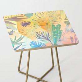 Desert Sun Pattern Side Table