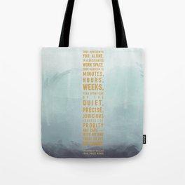 Heroism Tote Bag