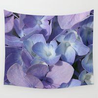 hydrangea Wall Tapestries featuring Hydrangea by Cindi Ressler Photography