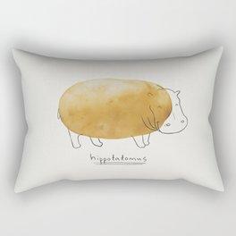Hippotatomus Rectangular Pillow