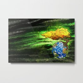Yggdrasil: The World Tree Of Life Metal Print
