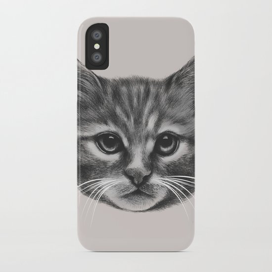 Everybody wants to be a Cat (MONOTONE) iPhone Case