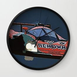 787B at Le Mans Wall Clock
