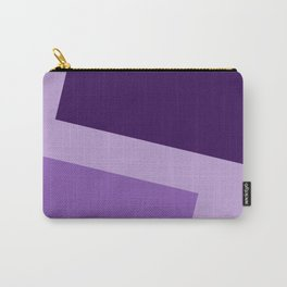 Two ways (Purple series) Carry-All Pouch