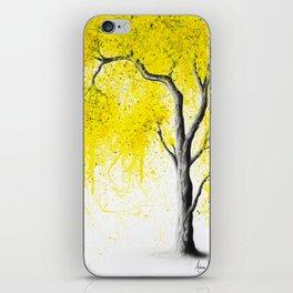 Fall Tree Trios iPhone Skin