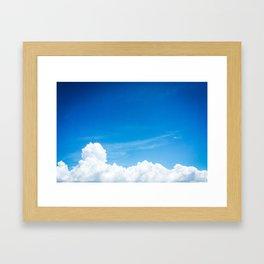 Oh. That's nice. Framed Art Print